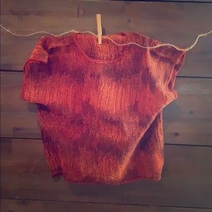 Tops - Vintage knitted shirt.